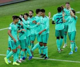 Real Madrid controla o Valencia e vai à final. EFE/Juanjo Martin