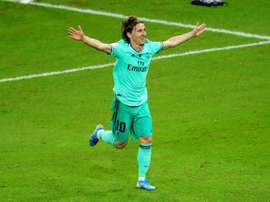 Modric will be key to determining Odegaard's Real Madrid future. EFE