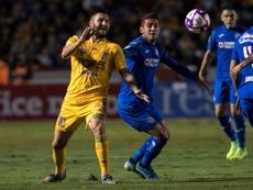 André Gignac (i) es de los extranjeros más destacados de la Liga MX. EFE/Archivo