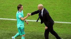 Zidane s'inspire de la France championne du monde. EFE