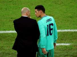 Zidane comprend James. EFE