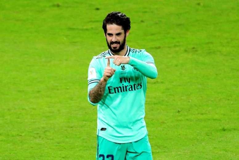 Isco n'a pas l'intention de quitter le Real Madrid. EFE
