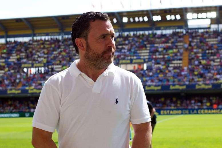 Sergio sabe de la importancia del duelo ante el Espanyol. EFE/Domenech Castelló/Archivo