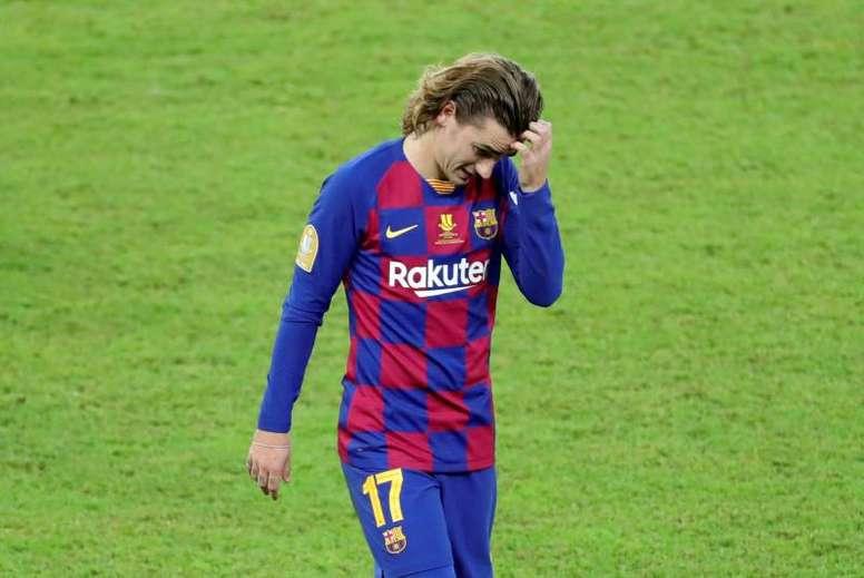 La razón por la que Griezmann no cuaja en el Barça. EFE/Juanjo Martín