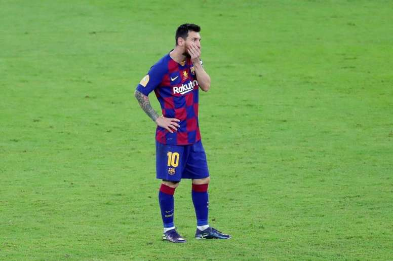 Pour Guardiola, Messi est le meilleur attaquant. EFE