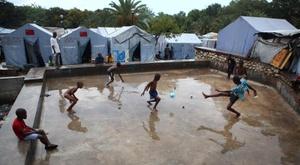 El fútbol como motor tras la desgracia en Haiti. EFE/Archivo