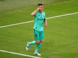 A precisão alemã renasce no Real Madrid. EFE