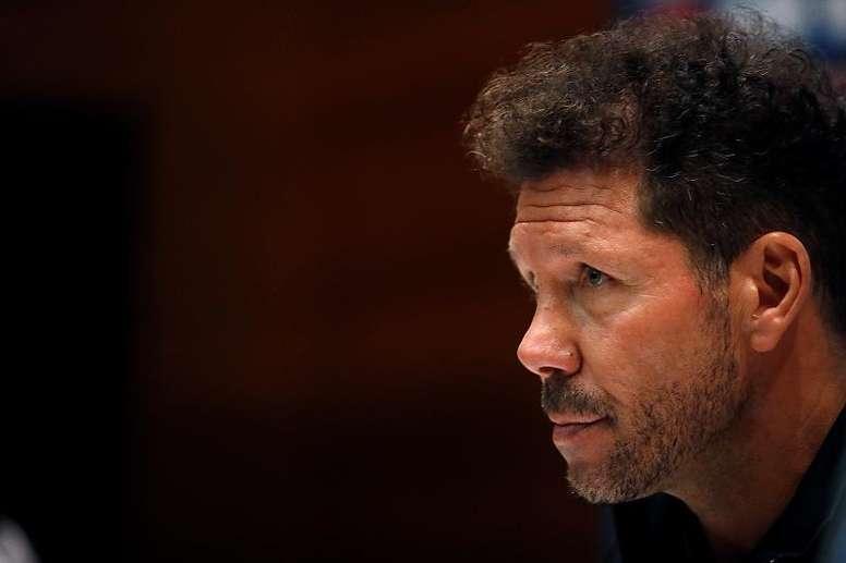 La cuesta de enero del Atleti. EFE/JuanJo Martín