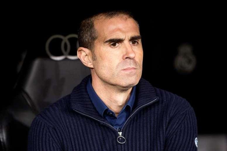 Garitano lamentó el gol anulado a su equipo. EFE