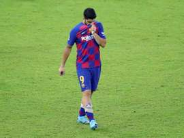 Os lesionados do Barcelona. EFE/Juanjo Martin