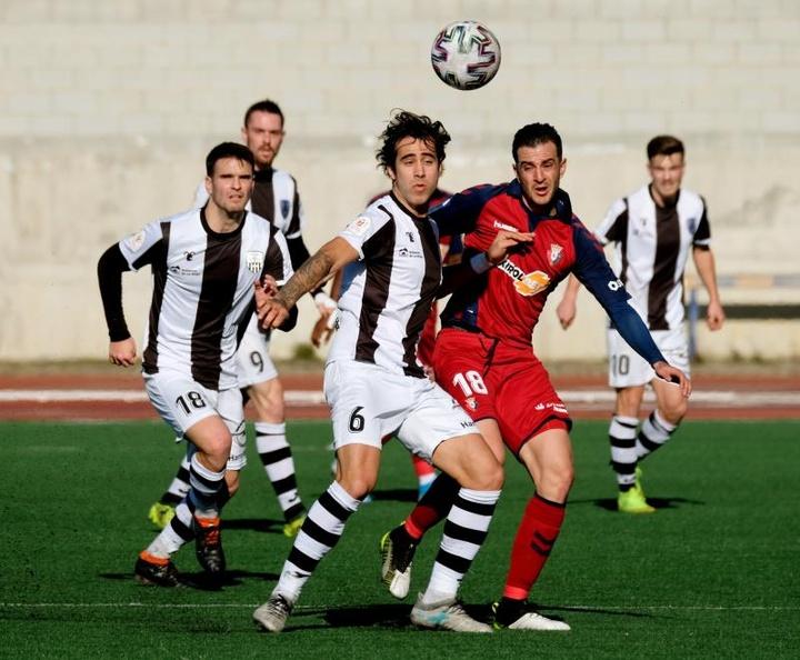 Hasta cuatro partidos suspendidos en el Grupo II-B de la Segunda B. EFE/Abel Alonso