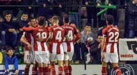 Athletic entra na história do futebol. EFE
