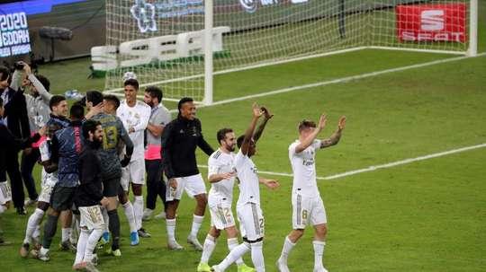Les sommes empochées par le Real Madrid et ses joueurs après la victoire en Supercoupe. EFE