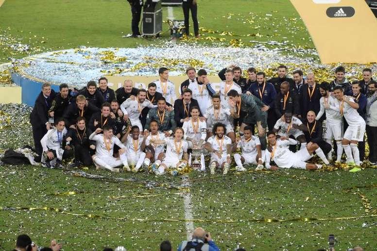 Le Real Madrid remporte la Supercoupe d'Espagne au bout du suspense. EFE