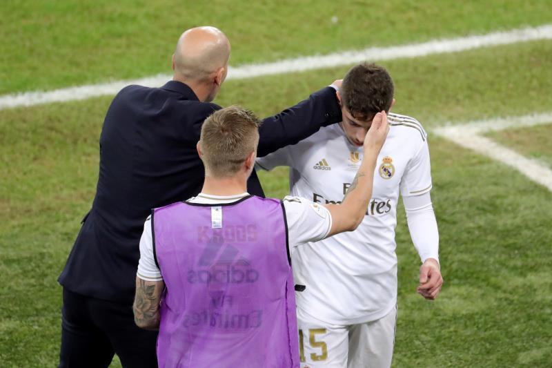Le Real Madrid remporte la Supercoupe d'Espagne au bout du suspense