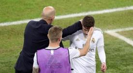 Zidane ha sido clave en el crecimiento de Valverde. EFE