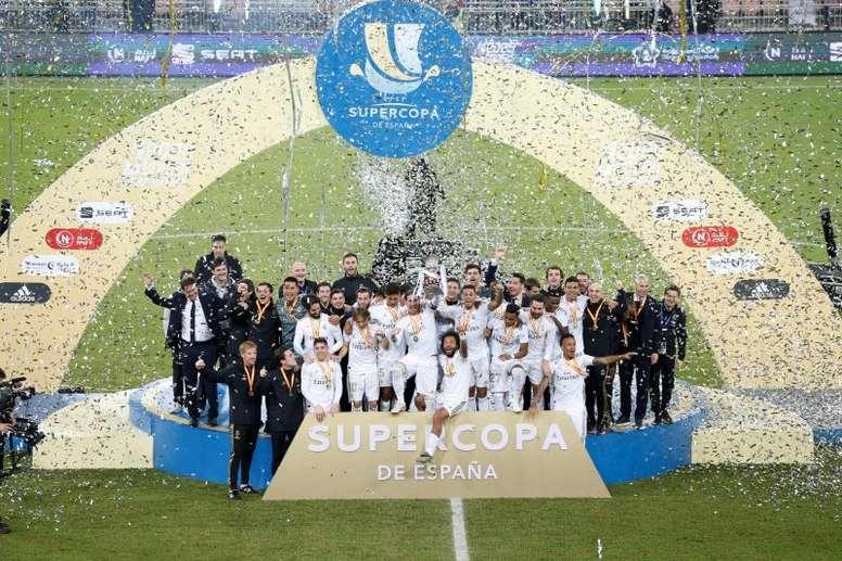 El Real Madrid sigue siendo el club más valioso, también en tiempos de pandemia. EFE