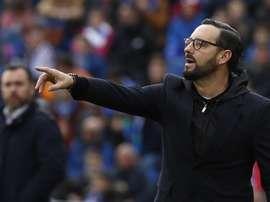 Bordalás est tranquille concernant Ángel et le Barça. EFE
