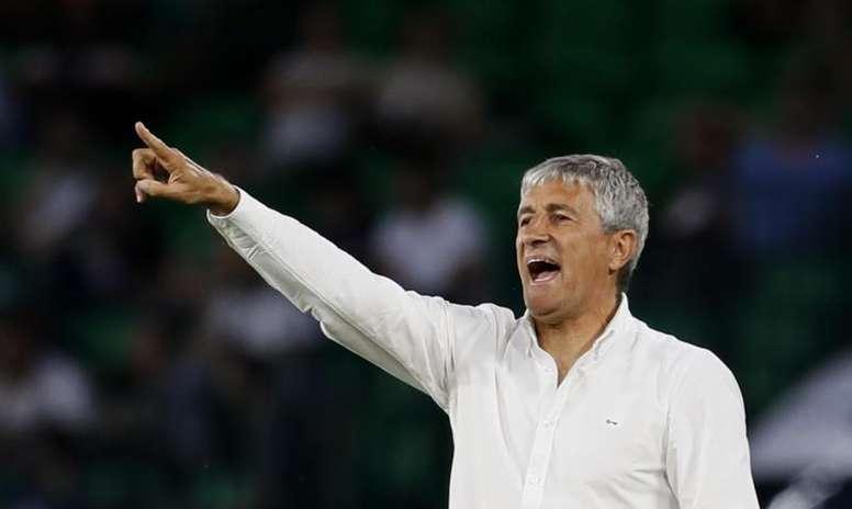Setién se acordó del Betis y del fichaje de Pellegrini. EFE