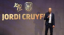 Jordi Cruyff, nuevo seleccionador de Ecuador. EFE/José Jácome