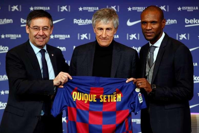 Setién, nuevo entrenador del Barça. EFE