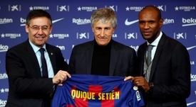 Quique Setien è il nuovo allenatore del Barcellona. FCBarcellona
