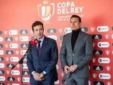 Amort pide jugar con respeto en Copa. EFE