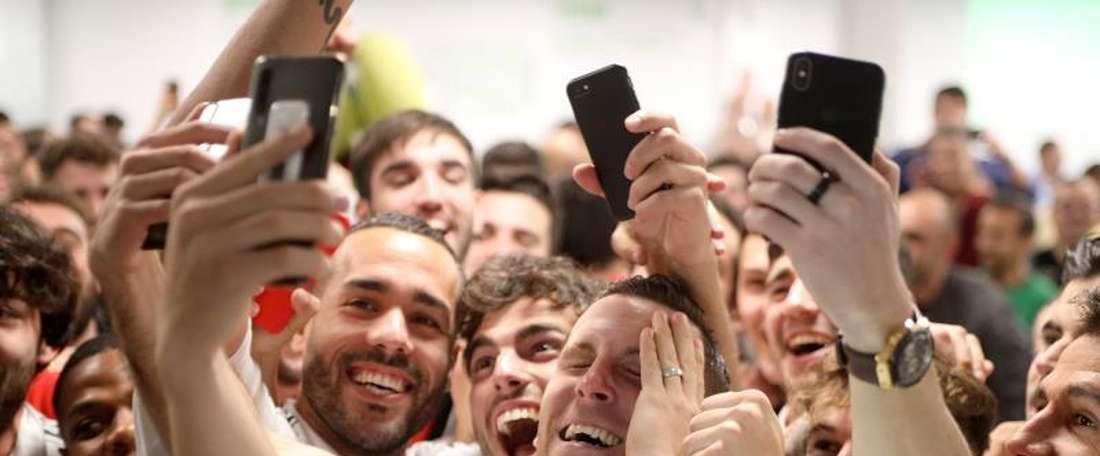 As promessas do Unionistas caso ganhe do Madrid. EFE/J.M. García