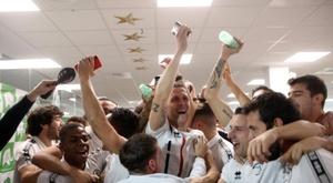 Unionistas ironizam Real na Copa do Rei. EFE