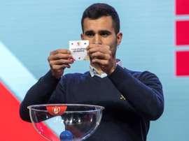 A la Cultural le correspondió el Atlético de Madrid. EFE