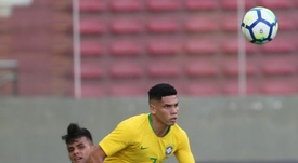 Reinier destaca en el amistoso de preparación de Brasil.  EFE/Paulo Fonseca/Archivo