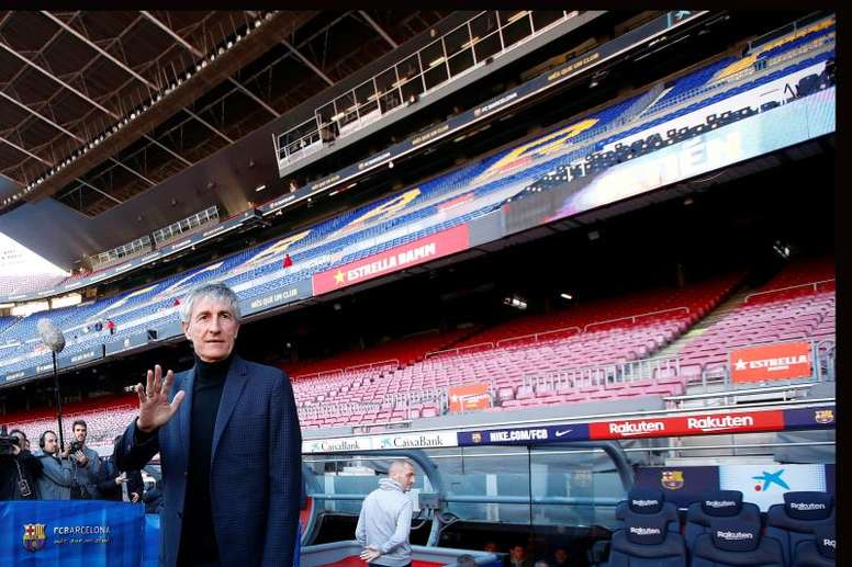 Good news for the Barcelona coach. EFE