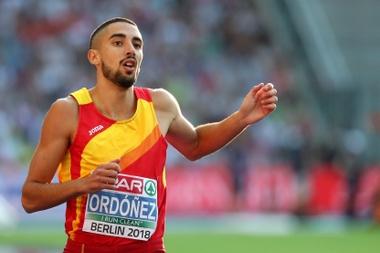 El atleta español Saúl Ordóñez. EFE/ Srdjan Suki/Archivo