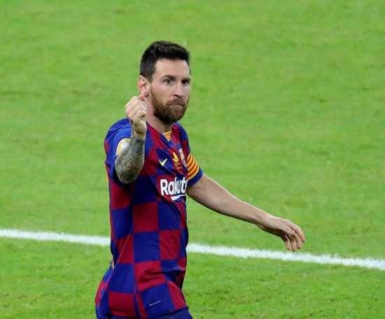 Tudo passa, só Messi fica. EFE