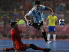 Los grupos de la clasificación sudamericana al Mundial de Lituania. EFE/Juan Ignacio Roncoroni