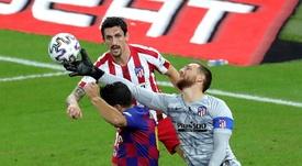 Simeone ya piensa en La Liga. EFE