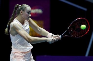 La tenista rusa Elena Rybakina. EFE/ Anatoly Maltsev/Archivo