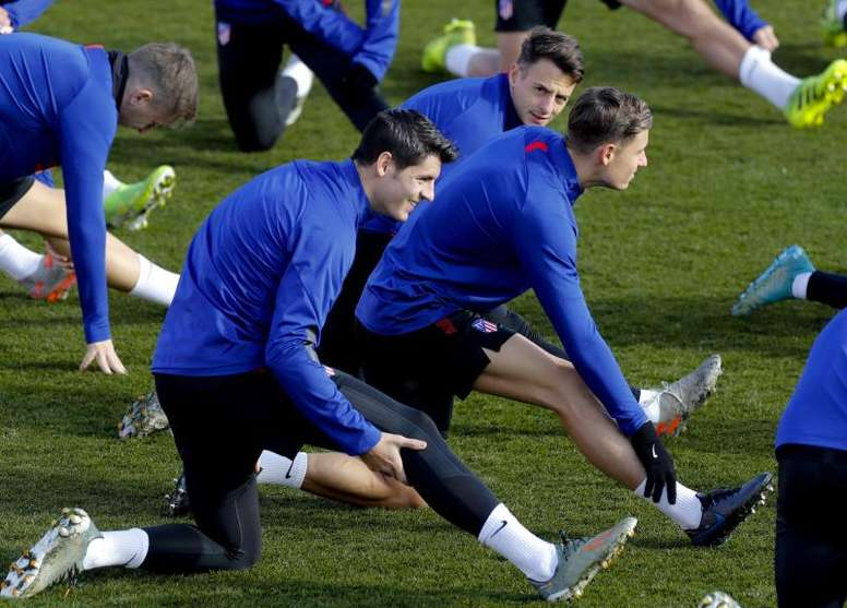 Simeone hará rotaciones en la Copa. EFE