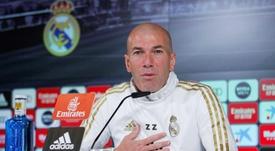 Zinedine Zidane has sympathy with sacked Barcelona boss Ernesto Valverde. EFE
