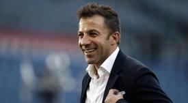Del Piero se moja. EFE