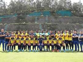 Ecuador debutará en el Preolímpico ante Chile. EFE