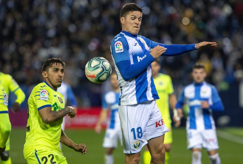 El Getafe ganó al Leganés en Butarque