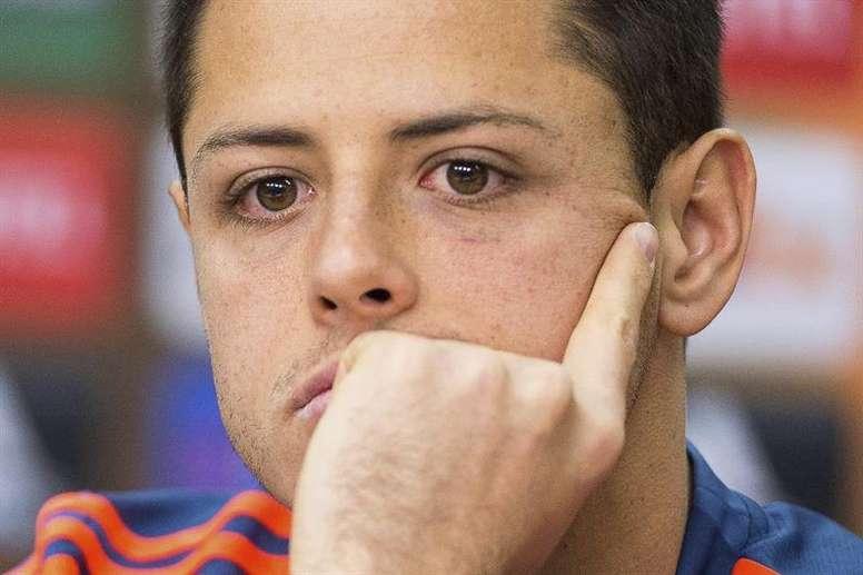Los Angeles Galaxy mantienen su confianza en Chicharito. EFE