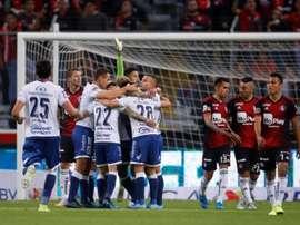 Puebla afana tres puntos de Guadalajara. EFE