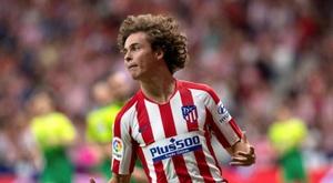 Rodrigo Riquelme viveu um domingo agitado pelo Atlético de Madrid. EFE/ Rodrigo Jiménez/Archivo