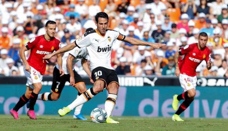 El Valencia perdió ante la Cultural cuando ambos coincidieron en Primera. EFE/Miguel Ángel Polo