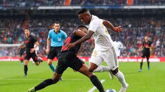 Les compos probables du match de Liga entre Séville et le Real Madrid. EFE
