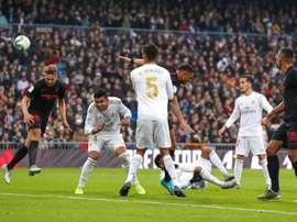 Les compos probables du Real Madrid - Unionistas CF. EFE