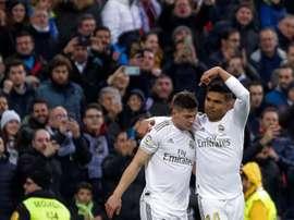 Desde que chegou ao Real Madrid, Luka Jovic tem 24 jogos, dois gols e polêmicas. EFE/Emilio Naranjo