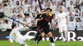 Carvajal, suspendu contre Valladolid, de retour pour le derby. EFE